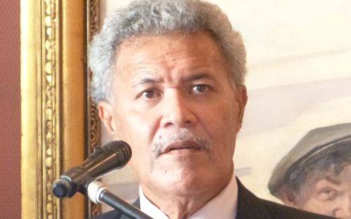 Tuvalu's PM Enele Sopoaga has added his country to the Pacific Coalition on West Papua Photo: RNZI / Jamie Tahana